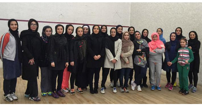 مسابقات اسکواش باشگاه استقلال بهمن 1394