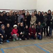 مسابقات اسکواش بهمن 1394 حیدرنیا